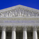 façade de cour Supreme Photos libres de droits