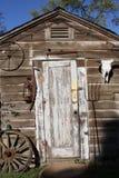 Façade de grange Photos libres de droits