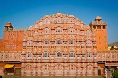 Façade de Hawa Mahal Images stock