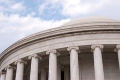 Façade de Jefferson Memorial, Washington, C.C Photos stock
