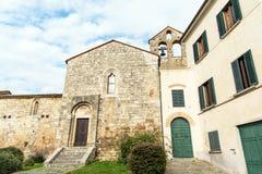 Façade de l'église Image libre de droits