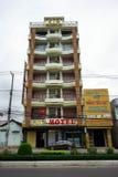 Façade de l'hôtel 161 Images libres de droits