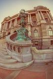 Façade de la Bibliothèque du Congrès Thomas Jefferson Building photo libre de droits