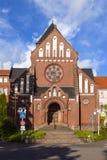 Façade de la mission dans St WEndel Photographie stock libre de droits