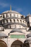Façade de la mosquée de Sultan Ahmed, Istanbul Photos libres de droits