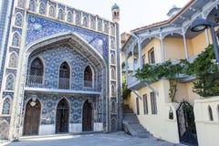 Façade de la mosquée de Juma dans Abanotubani, Tbilisi, Georgia Europe Images libres de droits
