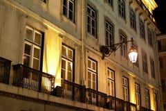Façade de Lisbonne Images stock