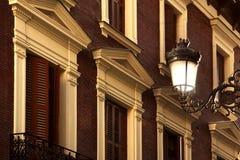 Façade de Madrid Photo libre de droits