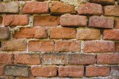 Façade de maison de brique Image stock