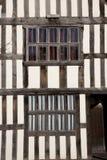 Façade de maison de Tudor, Angleterre image libre de droits