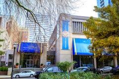 Façade de musée de société historique de l'Orégon, blocs de South Park, P Images libres de droits