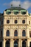Façade de palais de belvédère image libre de droits