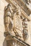 Façade de petit groupe du Salvador de chapelle de sauveur, Ubeda, Jaen, Espagne Photographie stock libre de droits
