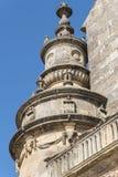 Façade de petit groupe du Salvador de chapelle de sauveur, Ubeda, Jaen, Espagne Images stock