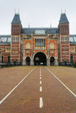 Façade de Rijksmuseum Image libre de droits