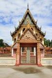 Façade de temple Image libre de droits