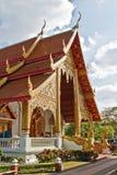 Façade de temple Photos libres de droits
