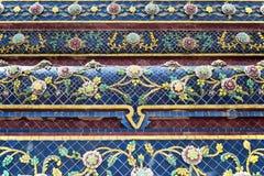 Façade de temple Wat Pho à Bangkok Photo stock