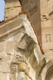 Façade de vieille église orthodoxe Photographie stock libre de droits