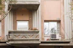 Façade de vieille maison Israël Photographie stock libre de droits