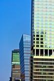 Façade des gratte-ciel à New York Photographie stock