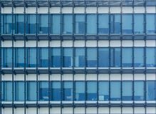Façade du bâtiment contemporain moderne Image libre de droits