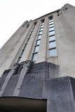 Façade du bâtiment de la radio Kootwijk Photo libre de droits