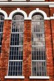 Façade du bâtiment de musée de l'électricité à Lisbonne images stock
