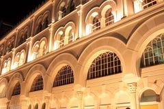 Façade du bâtiment islamique moderne Images libres de droits