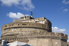 St Angelo, Rome, Italie de Castel Photos stock