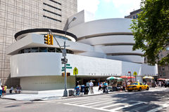 Façade du musée de Guggenheim Images libres de droits