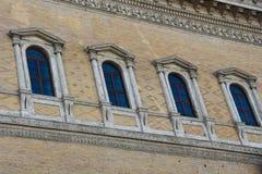 Façade du Palazzo Farnese Image libre de droits