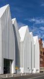 Façade du Szczecin Hall philharmonique Images libres de droits