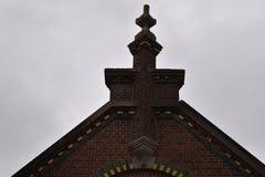 Façade du vieux bâtiment néerlandais photo stock