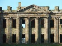 Façade est, Sutton Hall, Sutton Scarfield, Derbyshire, Angleterre image stock