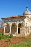Façade et tour d'église orthodoxe Photographie stock libre de droits