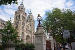 Natural history museum, London stock image