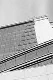 Façade glaçant, architecture moderne Image stock