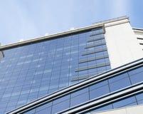 Façade glaçant, technologie moderne d'architecture Photos libres de droits