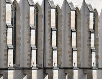 Façade gothique Images libres de droits