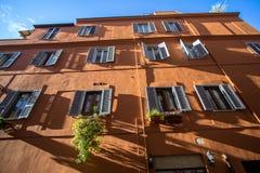 Façade italienne Photographie stock libre de droits