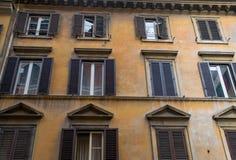 Façade italienne Photos libres de droits