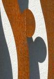 Façade moderne avec du fer no.2 Images stock