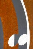 Façade moderne avec du fer no.4 Image stock