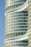Façade moderne d'architecture Images libres de droits