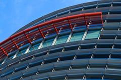 Façade moderne d'immeuble de bureaux Photo stock