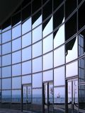 Façade moderne de construction Images stock