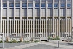 Façade moderne de construction Images libres de droits