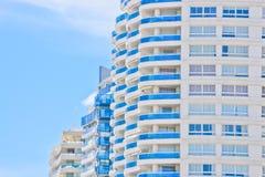 Façade moderne de constructions Photos stock