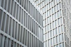 Façade moderne de corprate construisant au district des affaires du centre images stock